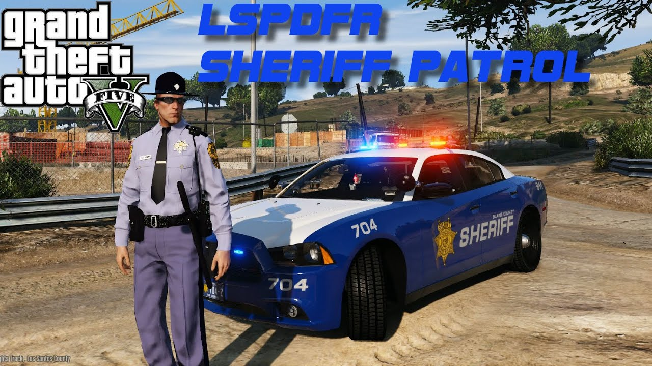 LSPDFR - Sheriff Charger - It Gets Real GTA V Police Mod Gameplay