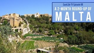 Living & Travelling in Malta (2 Month Round-up)