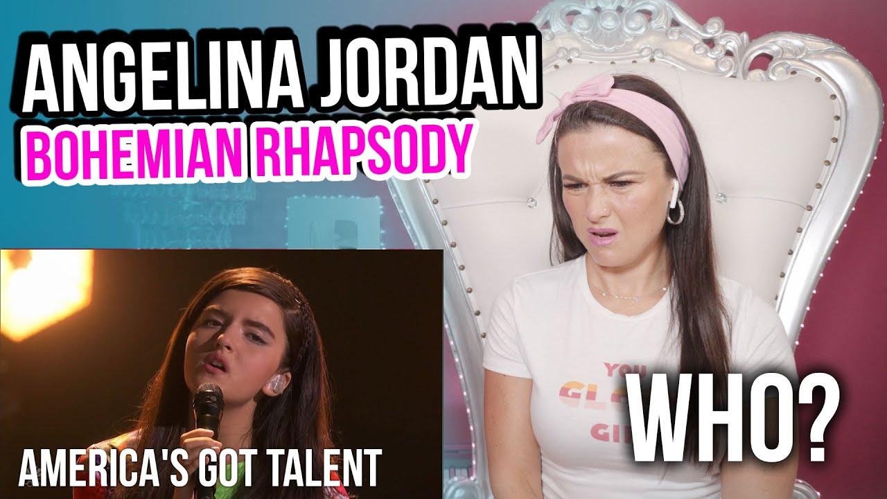 Vocal Coach Reacts to Angelina Jordan - Bohemian Rhapsody