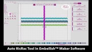Embellish Maker   Auto RicRac Tool