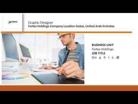 Graphic designer job vacancy in dubai