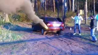 Метеорит попал прямо в машину