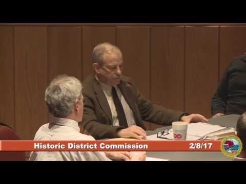 Historic District Commission 2.8.17