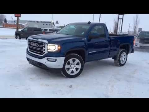 2016 Stone Blue Metallic Gmc Sierra 1500 Regular Cab For Sale In Westlock Stock 16t24 Youtube