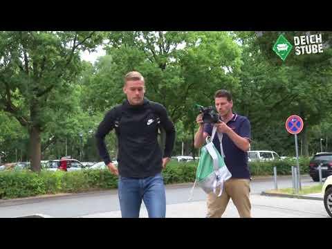 Felix Beijmo zum Medizincheck bei Werder Bremen