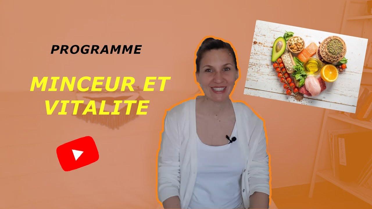 Programme MINCEUR et VITALITE !!!