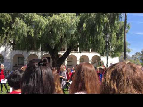 International Women's Day in Santa Barbara 3-8-17