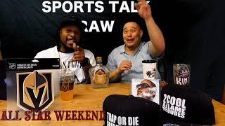 2018 slam dunk contest reaction (sports talk raw 22)