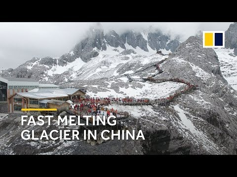 Climate change hits Chinese glacier hard