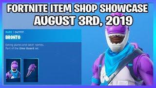 *NEW* BRONTO & CRYSTAL SKINS! (Fortnite Item Shop 3rd August)
