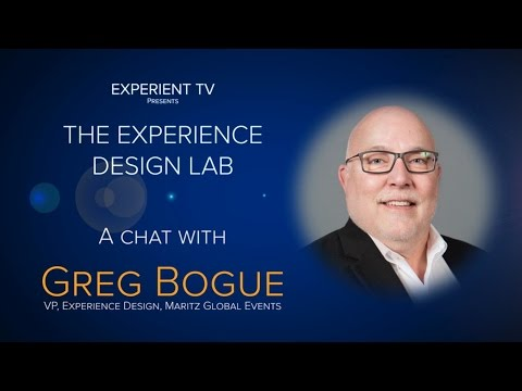 Experience Design Lab: A Chat With Greg Bogue