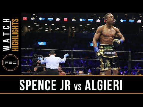 Spence Jr. vs Algieri - HIGHLIGHTS - April 16, 2016 - PBC on NBC