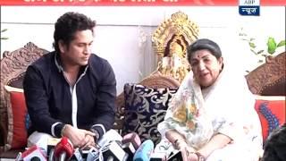 Sachin Tendulkar, Lata Mangeshkar visit Raj Thackeray's residence