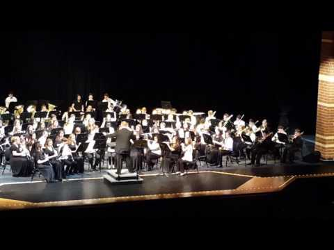 Kahler Middle School Honors Band 2017