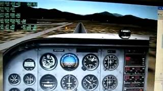 java flight control test in x-plane 7