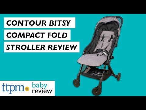 Contours Bitsy Compact Fold Stroller From Contours Baby