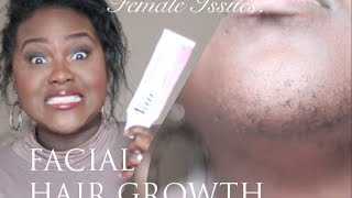 Female Issues: Excess Facial Hair Growth | PCOS | My Facial Hair Routine | Chanel Boateng Thumbnail