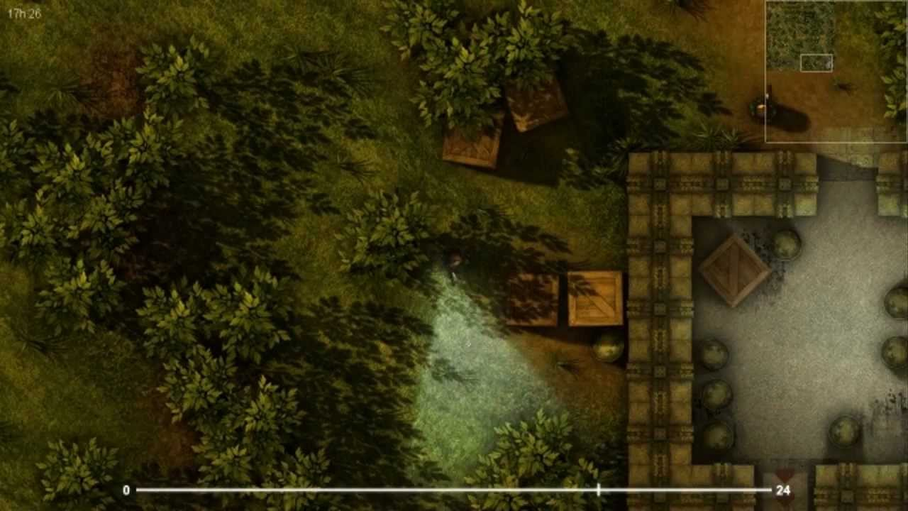 Amazing 2d Lighting Engine Crysis 2d Style Game