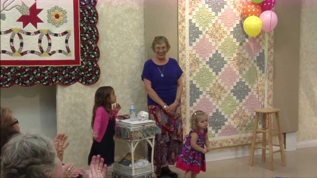 Quilt in a Day 35th Anniversary - YouTube : quilt in day - Adamdwight.com