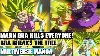 Dragon Ball Multiverse Chapters 75 Super Saiyan 2 Majin Bra Kills Everyone! Majin Symbol Broken!