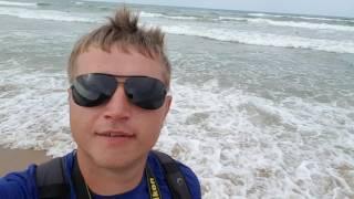 Отчёт море 19.07.2016 Витязево шторм