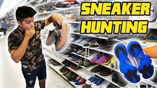 SNEAKER STEALS HUNTING AND GIVING AWAY THESE YEEZYS!! (MAJOR HEAT!🙌🔥)