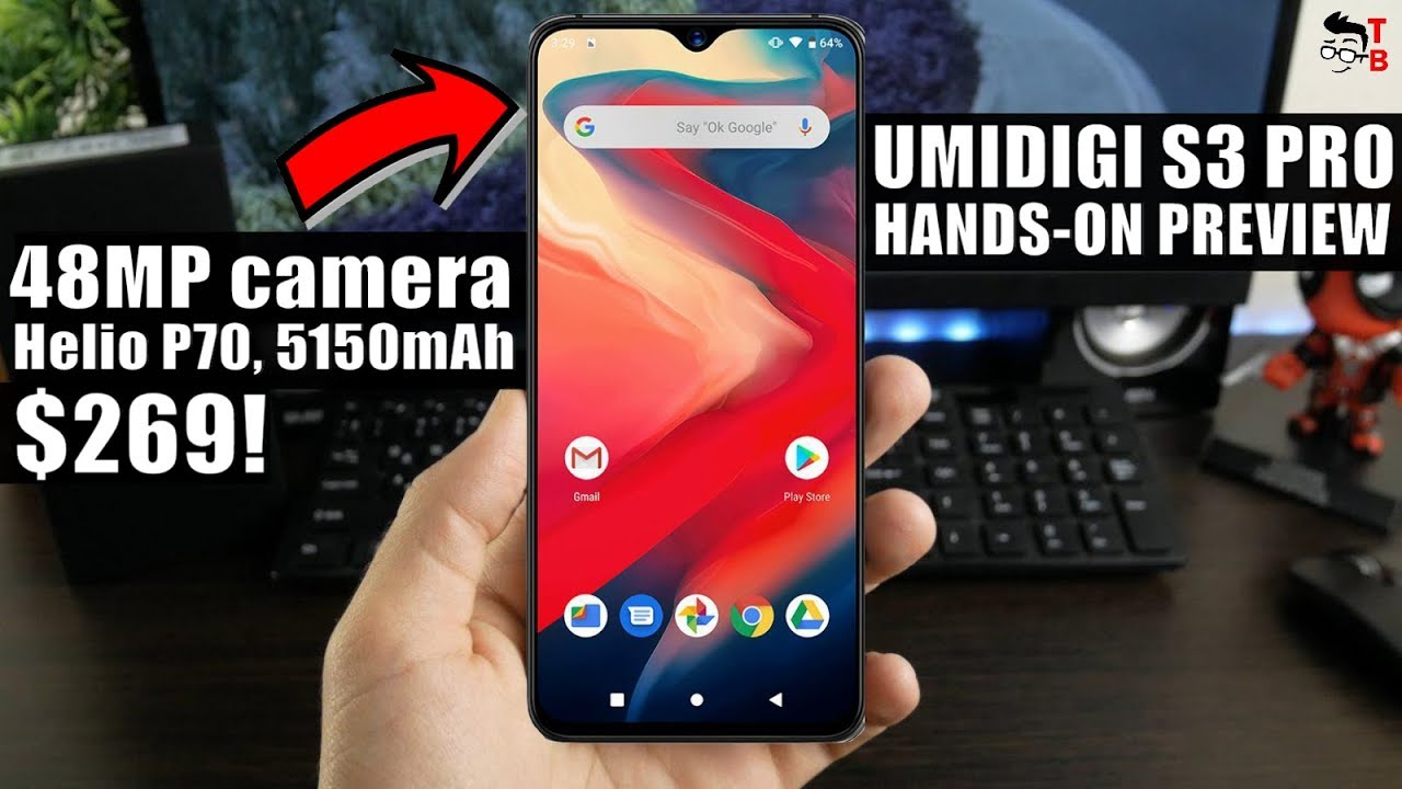 UMIDIGI S3 Pro Has REAL 48MP Sony IMX586 Camera! PREVIEW