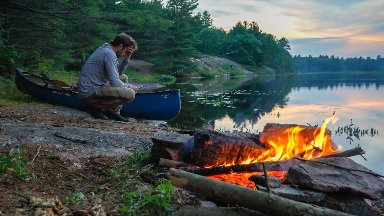 Solo Overnight Fishing Adventure - A Festival of Errors