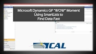 Microsoft Dynamics GP WOW Moments: How To Use SmartList Builder in Dynamics GP