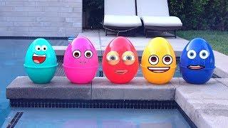 Огромные яйца с сюрпризами игрушками Щенячий Патруль
