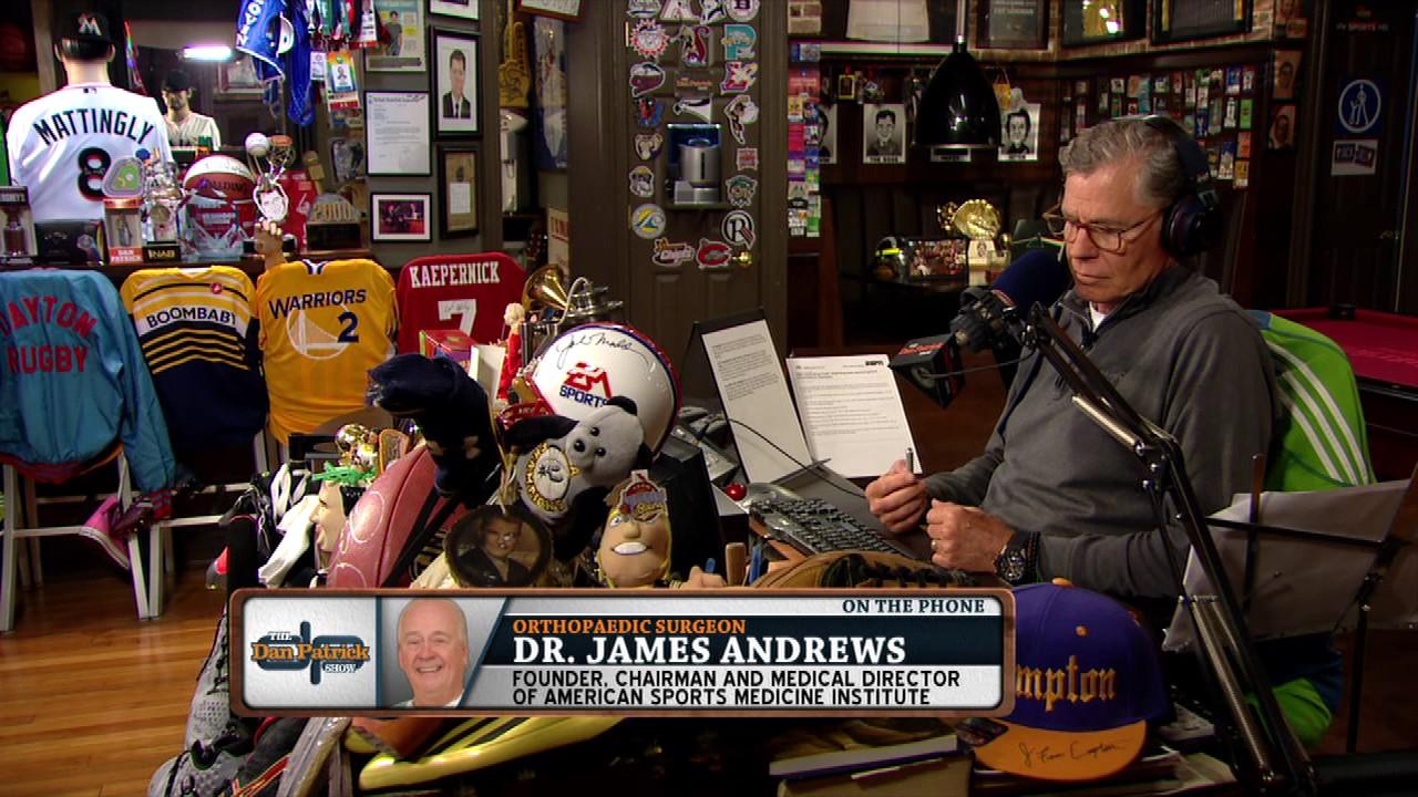Man Caves Dan Patrick : Dr. james andrews on the dan patrick show full interview 06 14