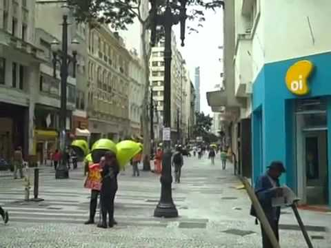 Sao Paulo Downtown   Walking Tour Part 1