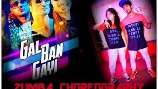 Gal Ban Gayi   Zumba choreography I YOYO Honey Singh I V!cky & Aakanksha