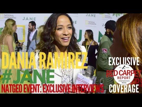 Dania Ramirez Cinderella OUAT ed at NatGeo Premiere of
