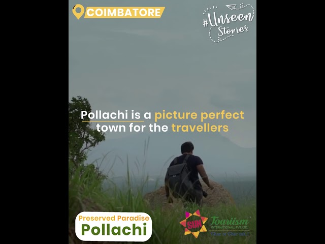 Pollachi - A Hidden Paradise in Tamil Nadu | Unseen Places  in India | Sun touriism
