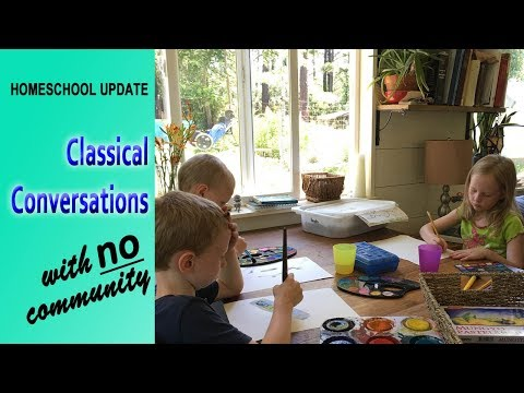 Why we will NOT be in a Classical Conversations community this year