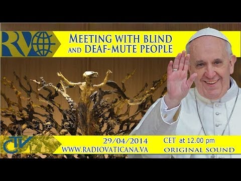 Meeting with the Associations of blind and deaf-mute people