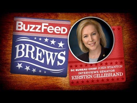 BuzzFeed Brews - Sen. Kirsten Gillibrand