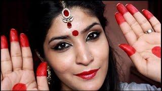 Indian Makeup Series | Bengali Makeup Look | Bloopers