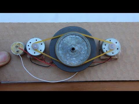 How to Make a Free Energy Generator Self Running New Machine