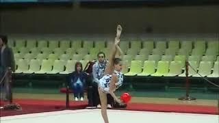 Каролина Севастьянова - упражнение с мячом 2009