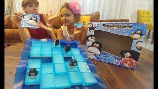 Çılgın Penguenler zeka oyunu , akıl ve strateji oyunları, toys unboxing