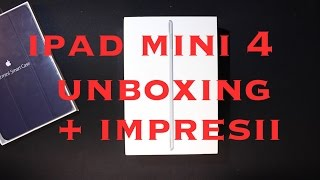 iPad mini 4 - Unboxing