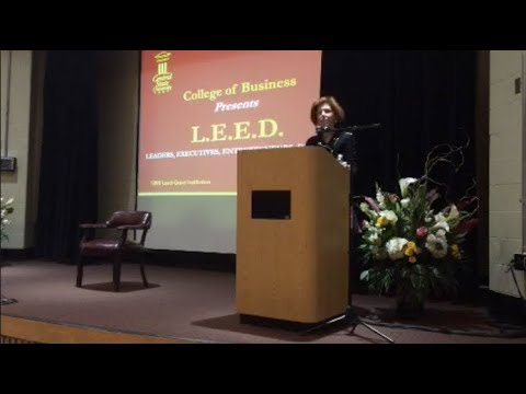 President Loretta J. Mester, Federal Reserve Bank of Cleveland, Speaks at Central State University