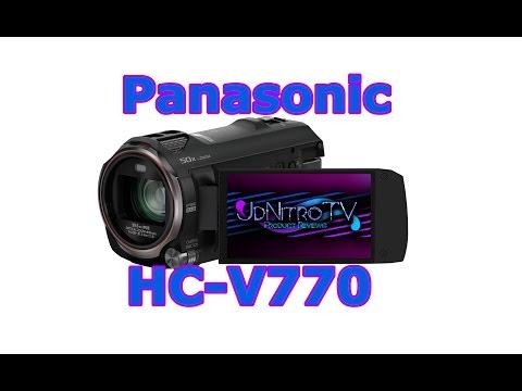 Panasonic HC V770 Review