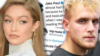 Gigi Hadid shuts down Jake Paul after coming for Boyfriend Zayn Malik... We were not ready for this!