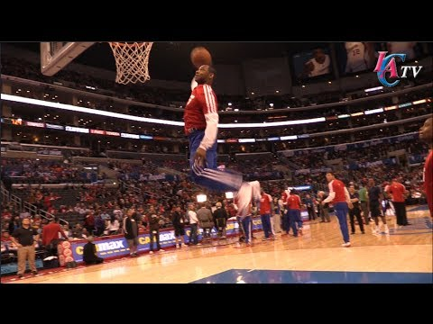 Clippers Dunk Lines 2014