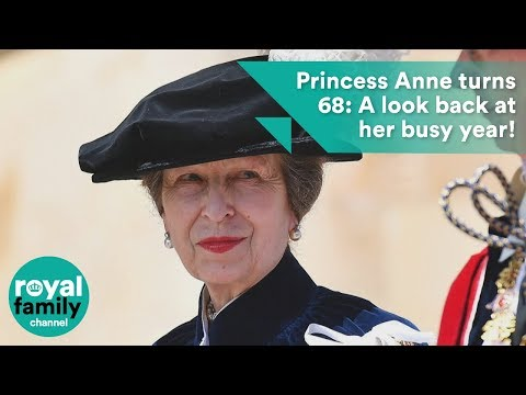 Princess Anne turns 68: A look back at her busy year!