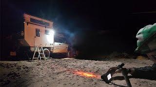 EP:05 FULL TIME TRUCK CAMPING - Caterpillars INVADE Camp in Southern Utah