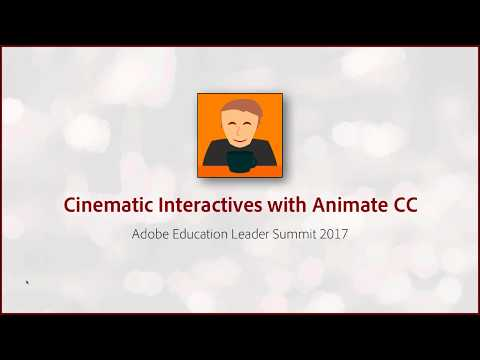 Cinematic Interactives with Animate CC
